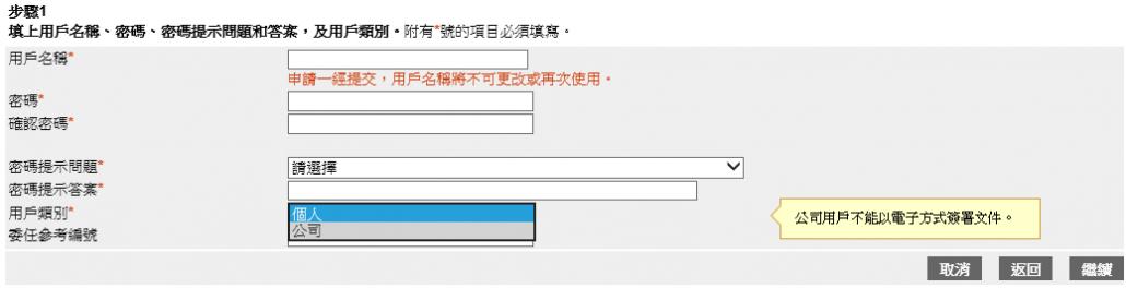 註冊易登記程序
